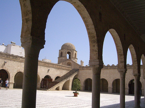 Couryard, Sousse Mosque