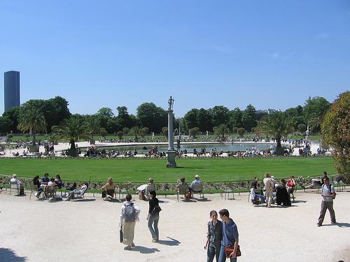 Huge Park: Jardins du Luxembourg