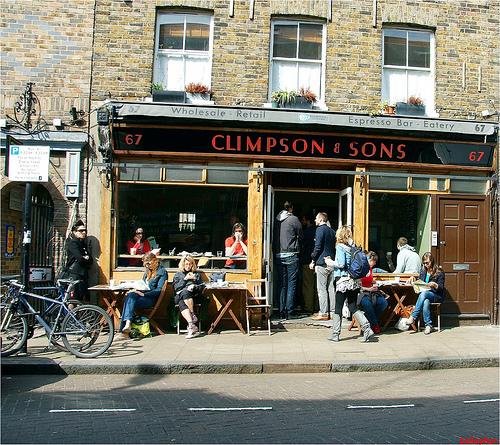Climpson & Sons, Broadway Market E8