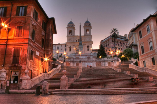 ROME BY NIGHT HDR